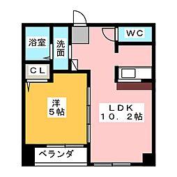 K・ドミール[5階]の間取り