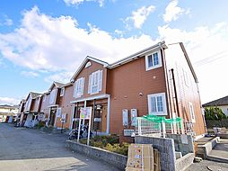 奈良県生駒市南田原町の賃貸アパートの外観