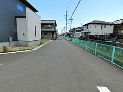 周囲は穏やかな街並みが広がっています。