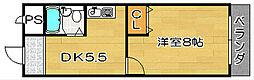 ファミール3号館[306号室]の間取り