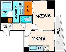 ロイヤルファミリー淀川邸[6階]の間取り