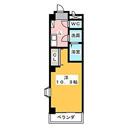 HAST有松[3階]の間取り