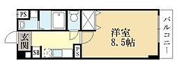 グランシャリオ宇治[2階]の間取り