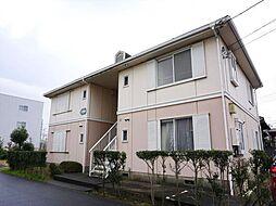 フローラ勝田台A棟[1階]の外観