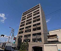 京都府京都市南区東九条宇賀辺町の賃貸マンションの外観