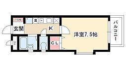 ベラ藤見ヶ丘マンション[3階]の間取り