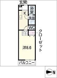 トップハウス垂水2[1階]の間取り