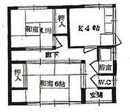 [一戸建] 愛知県稲沢市大塚南2丁目 の賃貸【/】の間取り