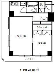 カサベラ花隈[10階]の間取り