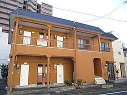 静岡県浜松市中区相生町の賃貸アパートの外観