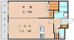 スルス篠栗[5階]の間取り