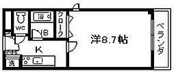 Collection沼町[202号室]の間取り