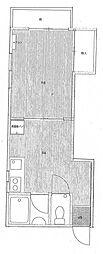 牧野ハイツ[1階]の間取り