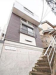 神奈川県横浜市神奈川区栗田谷の賃貸アパートの外観