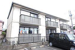 埼玉県越谷市花田7の賃貸アパートの外観