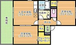 パインテール[1階]の間取り