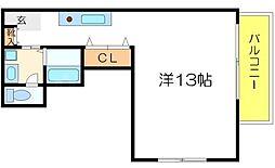 [テラスハウス] 大阪府吹田市山手町2丁目 の賃貸【/】の間取り