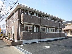 東京都東大和市芋窪6丁目の賃貸アパートの外観