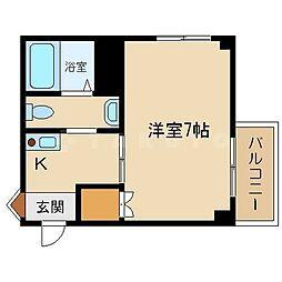 ロイヤルハイム[2階]の間取り