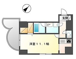 カノン大須[5階]の間取り