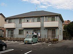 鹿児島県霧島市隼人町真孝の賃貸アパートの外観