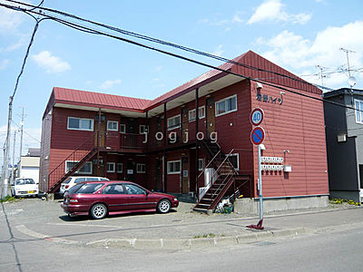 外観,1DK,面積21.06m2,賃料3.0万円,バス くしろバス鳥取分岐下車 徒歩5分,,北海道釧路市鳥取大通8丁目
