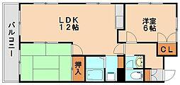 ピア21[2階]の間取り