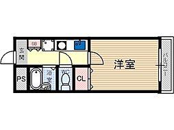 英陽ビル[3階]の間取り