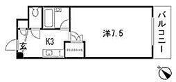 Melrose壱番館[5階]の間取り