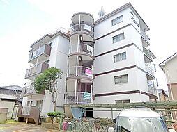 滋賀県草津市若竹町の賃貸マンションの外観