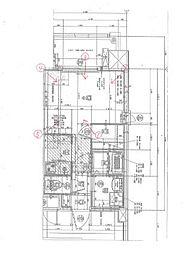 福岡市地下鉄箱崎線 呉服町駅 徒歩13分の賃貸マンション 3階1Kの間取り