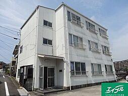 滋賀県大津市湖城が丘の賃貸アパートの外観