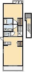サンモール・エヌ[2階]の間取り
