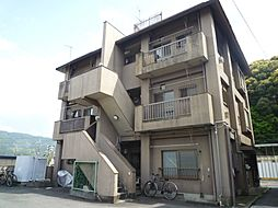 京都府京都市山科区勧修寺本堂山町の賃貸マンションの外観
