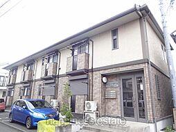 東京都町田市木曽東4丁目の賃貸アパートの外観