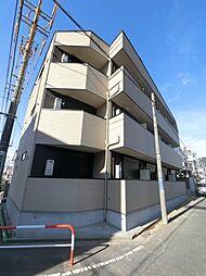 千葉県千葉市稲毛区稲毛東2丁目の賃貸アパートの外観