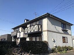 福岡県飯塚市目尾の賃貸アパートの外観