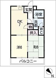 ハイムエクセル[1階]の間取り