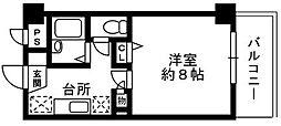 アマービレYSK[2階]の間取り