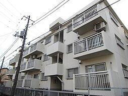埼玉県新座市栗原6丁目の賃貸マンションの外観