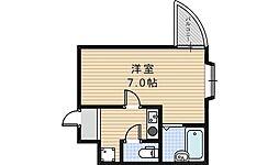 ピースフルハイツ[3階]の間取り