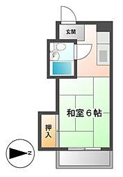 ドルフ千代田[5階]の間取り