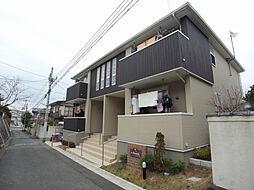 兵庫県宝塚市花屋敷荘園3丁目の賃貸アパートの外観