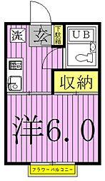 CHアネックス[2階]の間取り