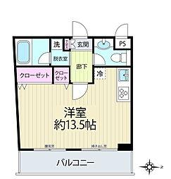 三ツ沢中町テラス[3階]の間取り