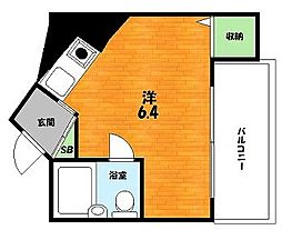 大阪府枚方市伊加賀東町の賃貸マンションの間取り