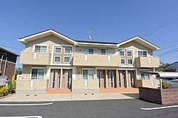 京都府八幡市下奈良出垣内の賃貸アパートの外観