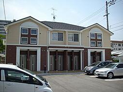 愛媛県新居浜市泉宮町の賃貸アパートの外観