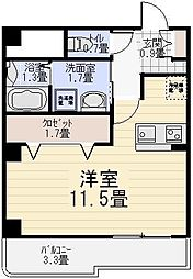 アーバンライゼ[2階]の間取り