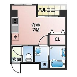 (仮称)船橋市宮本3丁目共同住宅[203号室]の間取り